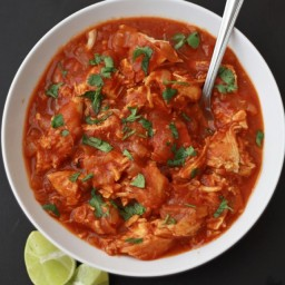 Slow Cooker Butter Chicken (GF, DF, Paleo, Whole 30)