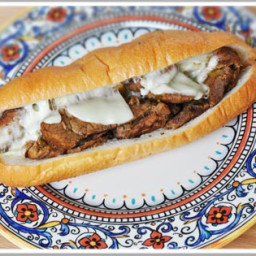 Slow Cooker Cheesesteaks