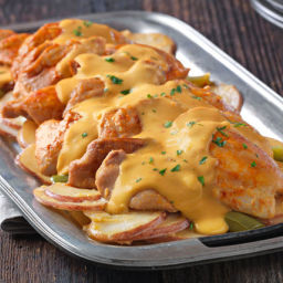 Slow-Cooker Cheesy Chicken and Potatoes