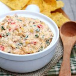 Slow Cooker Cheesy Corn Dip