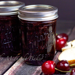 Slow Cooker Cherry Jam