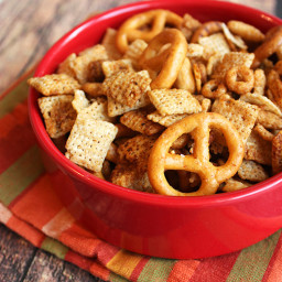Slow Cooker Chex Mix {Gluten-Free}