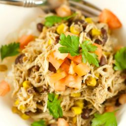 Slow Cooker Chicken And Black Beans