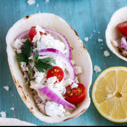 Slow-Cooker Chicken Gyro Bowls (BC)