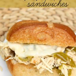 Slow Cooker Chicken Philly Cheesesteak Sandwich Recipe