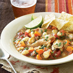 Slow-Cooker Chicken Posole