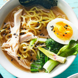 Slow Cooker Chicken Ramen With Bok Choy and Miso