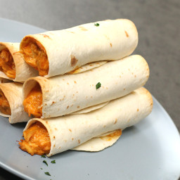 Slow Cooker Chicken Taquitos