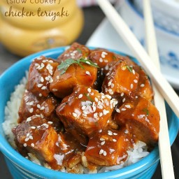 {Slow Cooker} Chicken Teriyaki