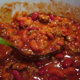 Slow Cooker Chili using jarred salsa