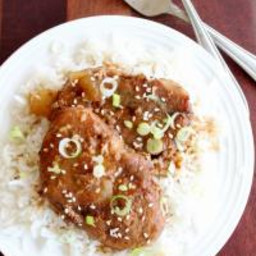 Slow Cooker Chinese Pork Chops