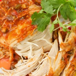Slow-cooker cilantro lime chicken