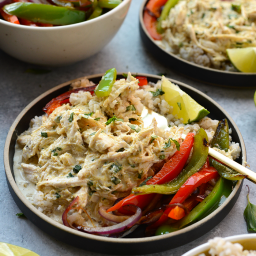 Slow Cooker Coconut Curry Shredded Chicken