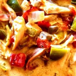 Slow Cooker Creamy Chicken Taco Soup Recipe