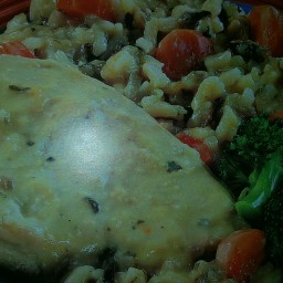 Slow Cooker Creamy Chicken & Wild Rice