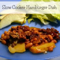 Slow Cooker Easy Hamburger Dish