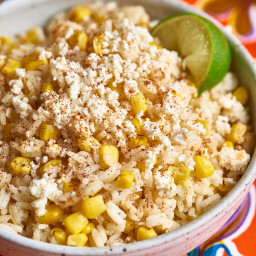 Slow Cooker Elote Rice