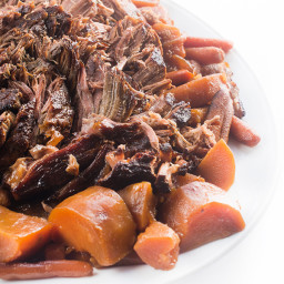 Slow Cooker Hoisin Pot Roast