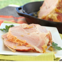 Slow Cooker Holiday Ham with Pineapple Glaze