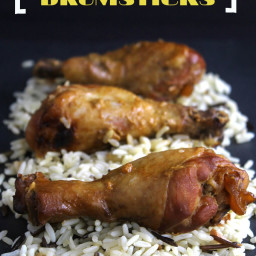 Slow-Cooker Honey Mustard Drumsticks