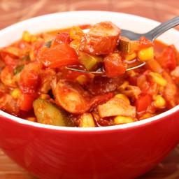 Slow Cooker Kielbasa Stew
