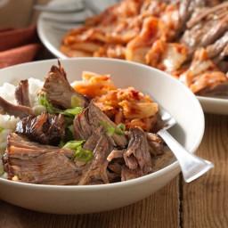 Slow-Cooker Korean Barbecue Pork Shoulder