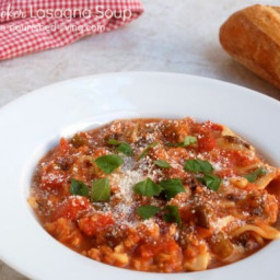 Slow Cooker Lasagna Soup - 4 SmartPoints