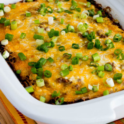 Slow Cooker Low-Carb Mexican Lasagna Casserole
