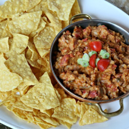 Slow Cooker Mexican Taco Dip
