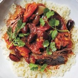 Slow-Cooker Moroccan Short Ribs With Couscous