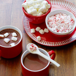 Slow-Cooker Peppermint Hot Chocolate