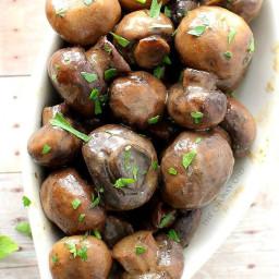 Slow Cooker Ranch Mushrooms