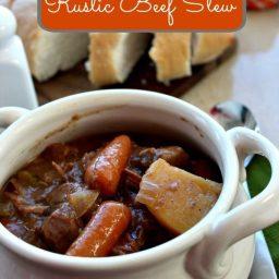 Slow Cooker Rustic Beef Stew