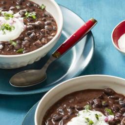 Slow-Cooker Smoky Black Bean Soup