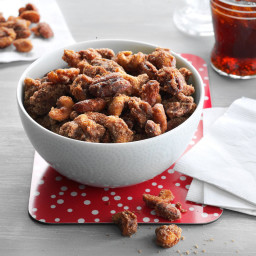 Slow Cooker Spiced Mixed Nuts Recipe