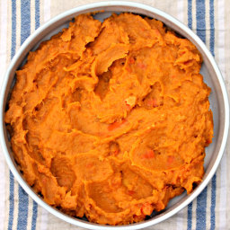 Slow-Cooker Spiced Sweet Potato and Carrot Mash