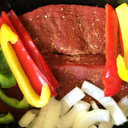 Slow Cooker Steak Fajitas Recipe