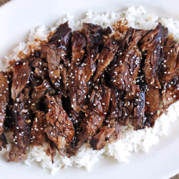 Slow Cooker Sticky Asian Lamb