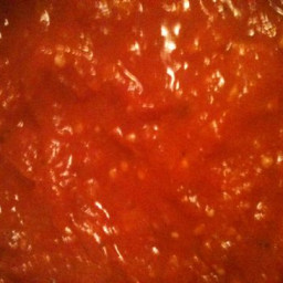 Slow Cooker Super Low Sodium Tomato/Meat Sauce