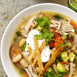 Slow-Cooker Tex-Mex Chicken Soup