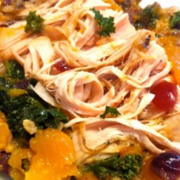 Slow Cooker Turkey Tenderloin with Wild Rice and Butternut Squash
