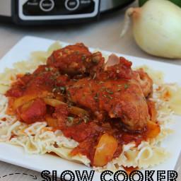 Slow-Cooker Chicken Cacciatore