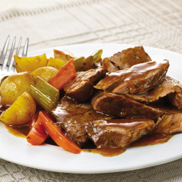 Slow Cookers Savory Pot Roast