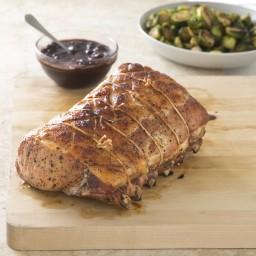 Slow-Roasted Bone-In Pork Rib Roast