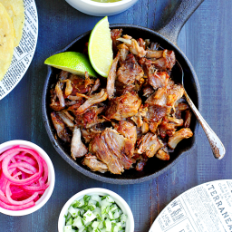 Slow-Roasted Carnitas with Salsa Verde