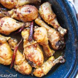 Slow Roasted Chicken Legs