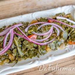 Slow Simmered Collard Greens