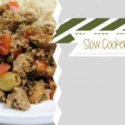 Slow Cooker Cuban Picadillo