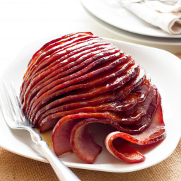 Slow Cooker Honey-Glazed Ham