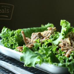 Slow Cooker Paleo Chicken Lettuce Wraps